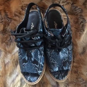 3.1 Phillip Lim Snakeskin Lace Up Sandal Booties